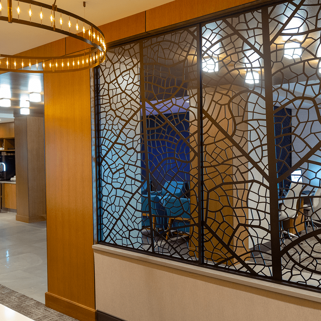 Privacy Screens | Hilton Des Moines Downtown