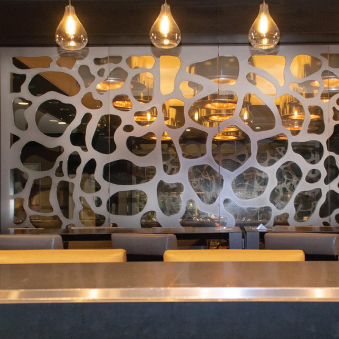 Metal Wall Panels and Room Dividers | Hyatt Regency Birmingham